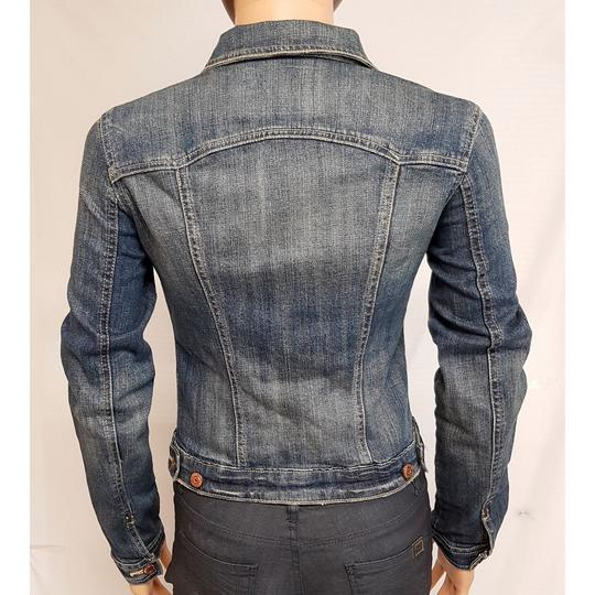 Veste blouson Jean Garage Denim T XS bleu délavé - Photo 4