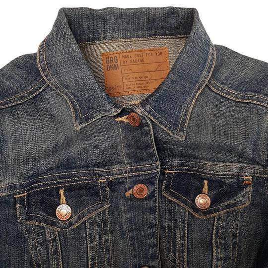 Veste blouson Jean Garage Denim T XS bleu délavé - Photo 2