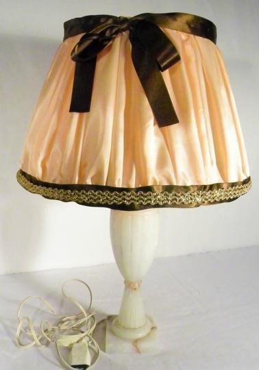 Pied Albatre Vintage Lampe En ZiPXuk