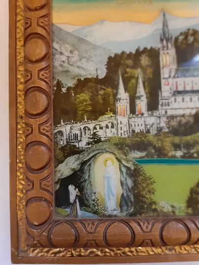 DESSOUS DE PLAT MUSICAL SOUVENIR LOURDES  - Photo 1