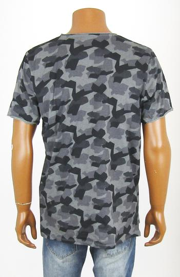 T-shirt effet camouflage