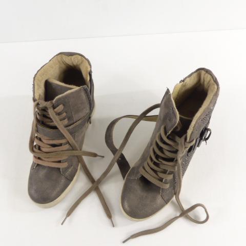 énorme réduction 89d03 38d80 Chaussure femme les Tropéziennes en daim et cuir taille 36