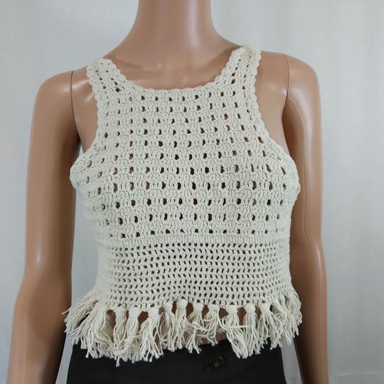 Haut au crochet neuf - Zara - Taille S - Photo 0
