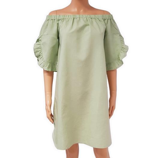 Neuf & étiquette robe Monoprix T 36 en lin et coton - Photo 0