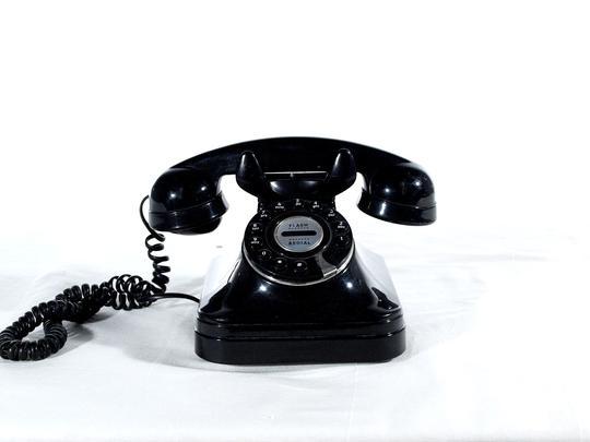 Téléphone Fixe Flash Style Vintage Longue Touches« Redial » La À Chaise DEI2WH9