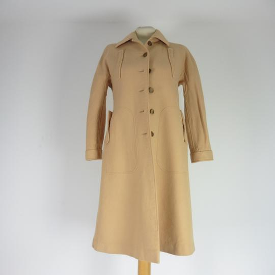Manteau Courrèges Chic Vintage 1970 Beige taille O - Photo 0