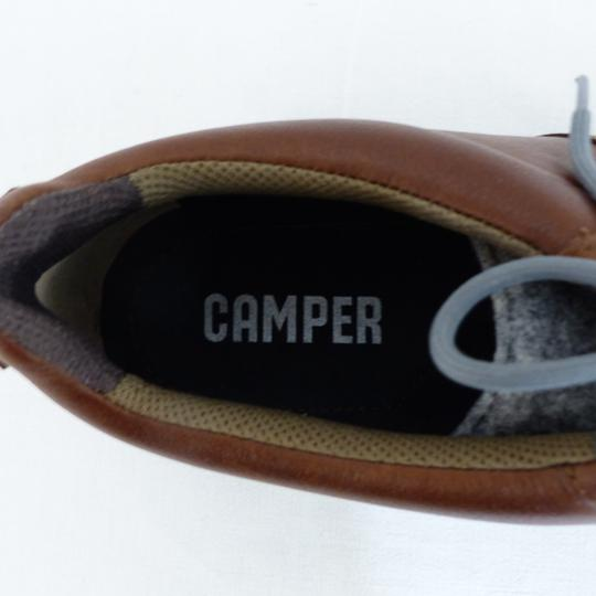 Chaussures marron CAMPER cuir - Pointure 44 - Photo 3