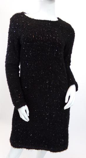 Robe Noire A Sequins 38 La Redoute Label Emmaus