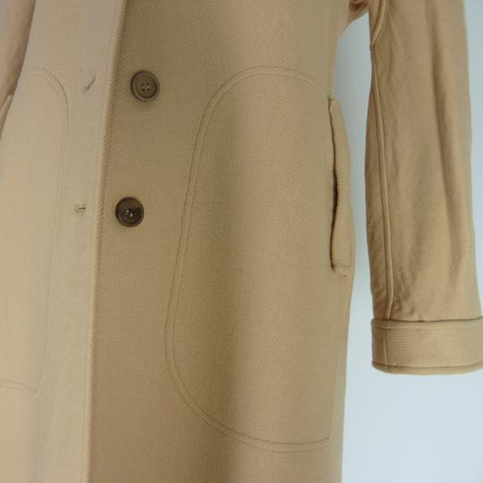 Manteau Courrèges Chic Vintage 1970 Beige taille O - Photo 2