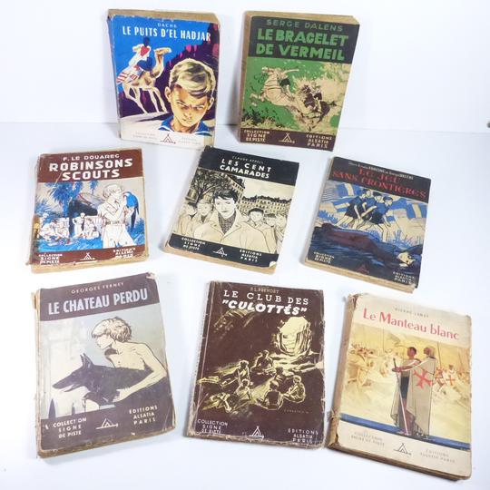 Lot de 8 livres collection Signe de Piste - Photo 0