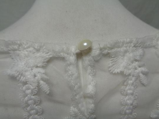Top transparent blanc en dentelle - taille 38 - Photo 3