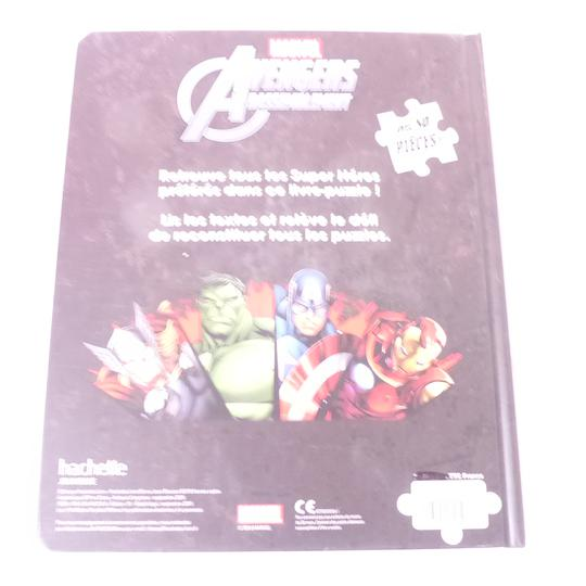 Livre BD puzzles Marvel avengers - Photo 4