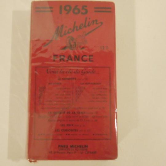 Guide Michelin 1965, France - Photo 0