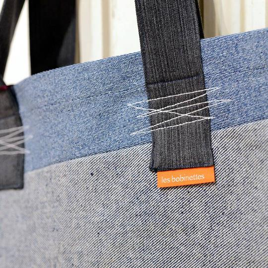 Tote bag 100% recyclé en jean - Photo 1