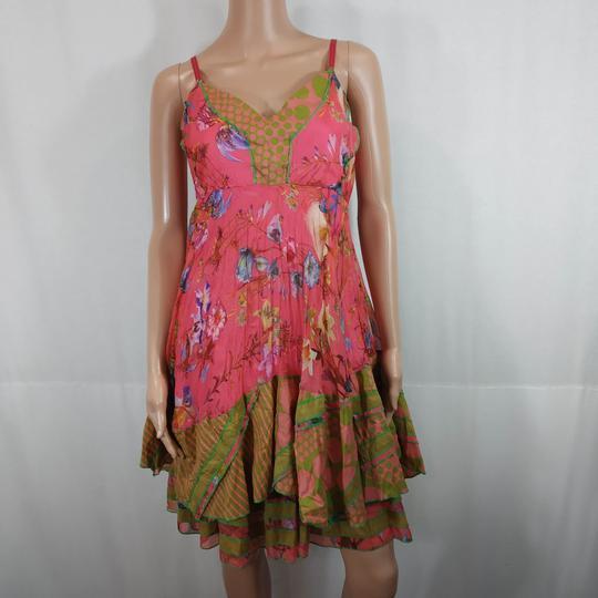 Robe Multicolore Sensations Taille 36 Label Emmaus