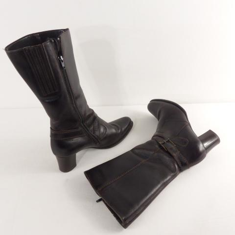 39 Botte femme luftpolster marron taille a talon bf7yv6gmIY