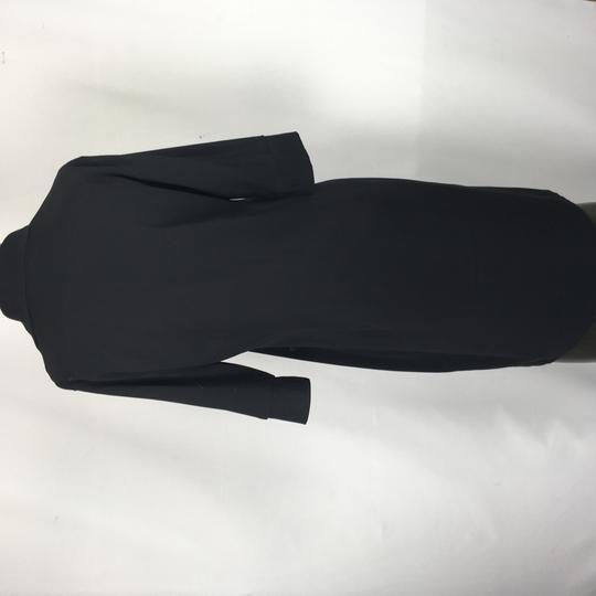 Robe Noire Manche 3 4 Fille Ca Paris Label Emmaus