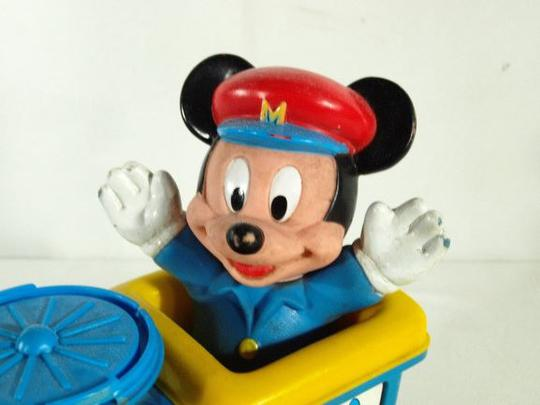 À Bleu VintageDisney Mickey Tirer MouseJouet Train rQdWxCeBo