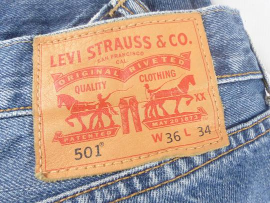 Jeans Homme Lévi'Strauss 501 Bleu T W 36 L 34 - Photo 2