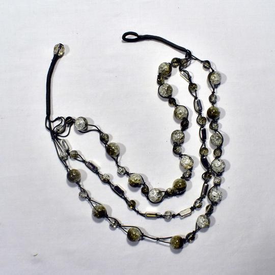 collier fantaisie plastique