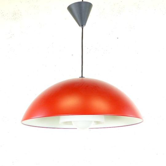 Suspension Plafonnier Rouge Ikea Style Industriel