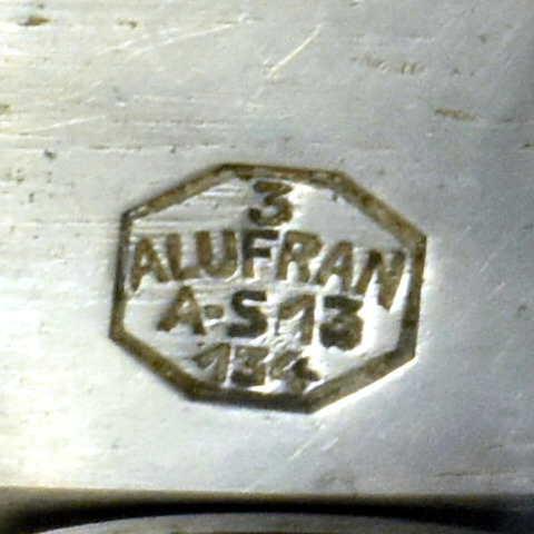 Hachoir à viande manuel Alufran Années 60 Label Emmaüs