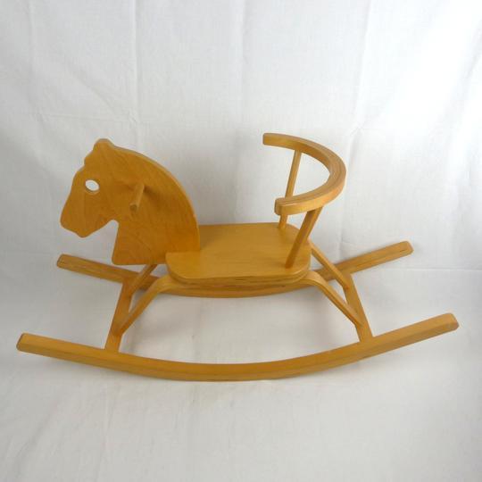 français shabby chic-beau cadeau En bois cheval à bascule