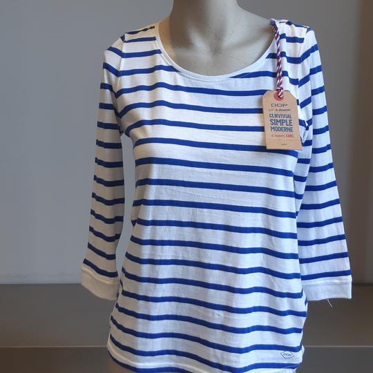 T-shirt marinière manche 3/4 femme - DDP - XS - Photo 0
