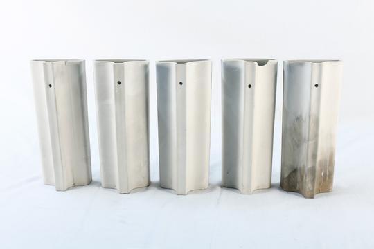 5 Saturateurs De Radiateurs Blanc Avec Des Gravures