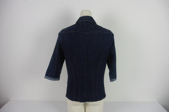 Chemise en jean denim authentique Femme Made with love taille 40 - Photo 2