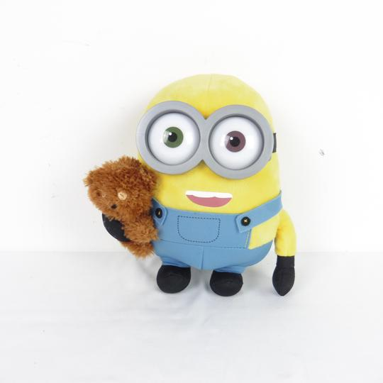 Peluche Minion Bob avec sa peluche Tim  - Photo 0