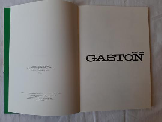 Livre  Gaston Lagaffe - L'intégrale Tome 2 version originale  - 1959 / 1960  - Photo 5