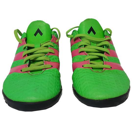 Basket Adidas chaussure fluo bicolore P 36