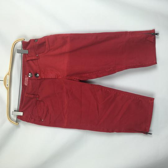 Short Bermuda Rouge Homme Ddp 38 Label Emmaus