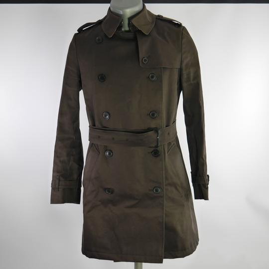trench coat femme marron foncé