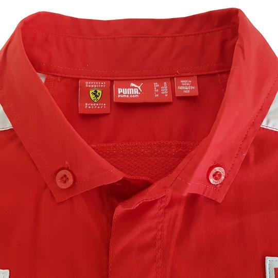 Chemise Puma Scuderia Ferrari T 48 Bridgestone rouge - Label Emmaüs