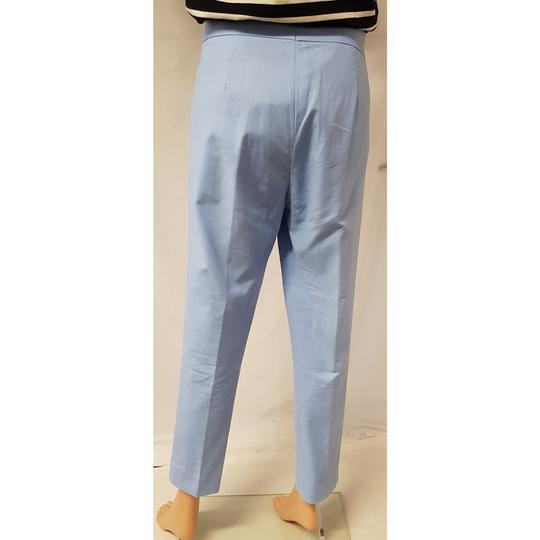 Pantalon Cos T 40 en piqué de coton bleu pastel  - Photo 4
