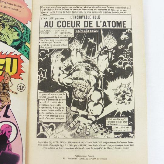 BD Hulk n°21 Publication Flash de Marvel - Photo 2