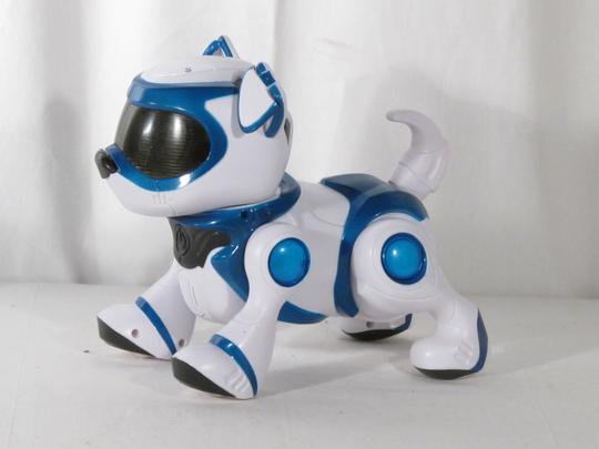 Jouet Robot Chien Interactif à Reconnaissance Vocale Teksta Puppy Splash Toys 30642
