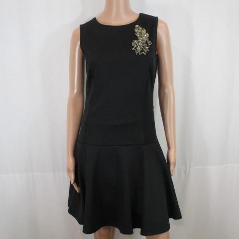 Robe Noire Sans Manche La Redoute Taille 36 Label Emmaus