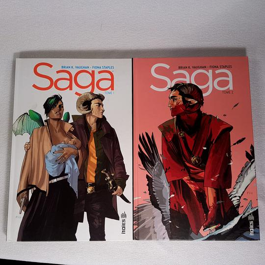 Comics SAGA Tome 1 & 2 - Photo 0