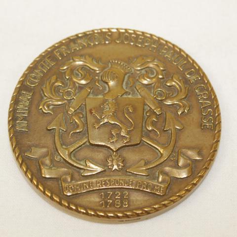 Médaille Croiseur de Grasse- bronze label emmaus