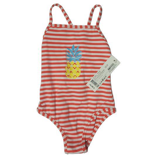 2110e3010e Neuf & étiquette Maillot de bain 1 pièce Bout'chou bébé 1 an à rayures ...