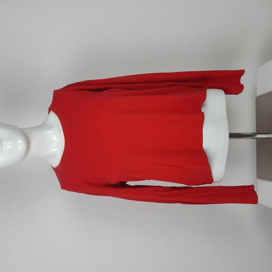 Top manches longues rouge - Sonia Rykiel - S - Photo 0
