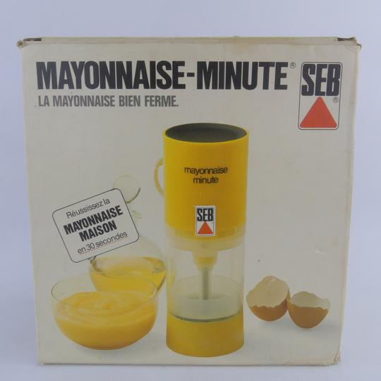 Robot mayonnaise-minute SEB années 80  - Photo 1