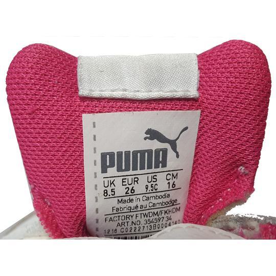 Basket Label Chaussure Sur Emmaüs P Puma Sneakers Enfant 26 a0HTdqw