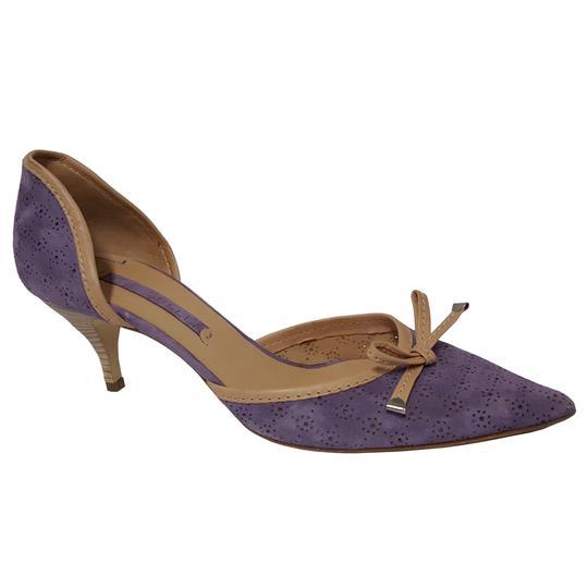bdc655c998971 Chaussure escarpin The Seller en daim lavande P 39 sur Label Emmaüs ...