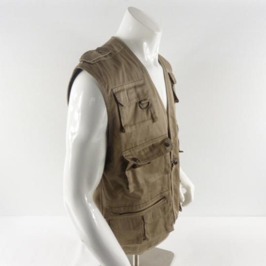 enfant style de mode Découvrez Gilet de travail homme vintage multi poches taille S