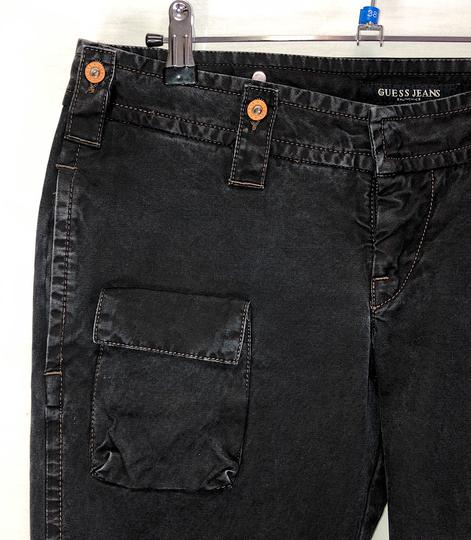 Pantalon noir ceinturé - Guess - Taille 40 - Photo 2