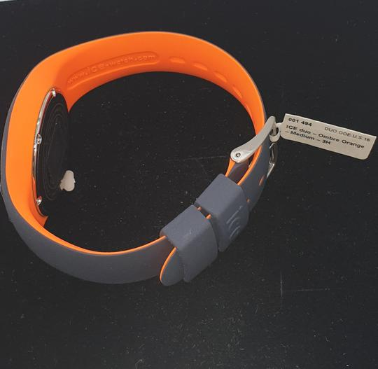 Montre Mixte Ice Watch (Duo ombre orange médium 3H)